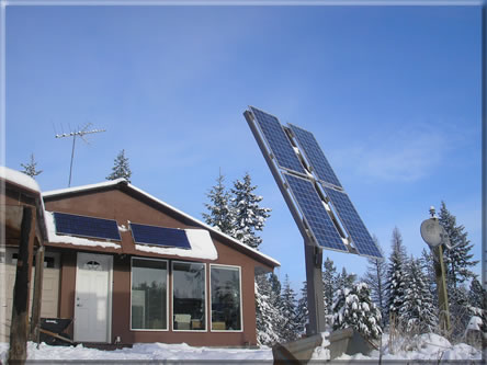 Solar Powered Energy Efficient Earth Sheltered Home